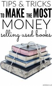 Selling second hand books is a great way to free up some space at home and make a few quid in the process. Some people are even making a regular income from it.