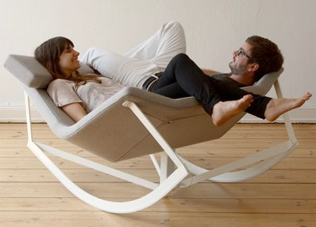 Rocking chair for couples. i need one...: Rocks Chairs, Idea, Markus Krauss, Sweet, Markus Krauss, House, Furniture, Products, Design