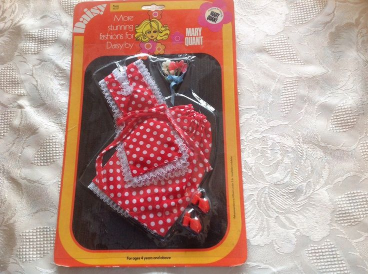 VINTAGE RARE MARY QUANT Daisy picknick outfit   eBay
