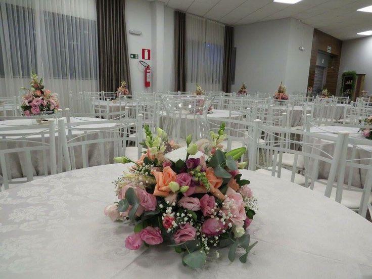 Mesa dos convidados Projeto e execução Le Sorelle Cerimonial e Decoração