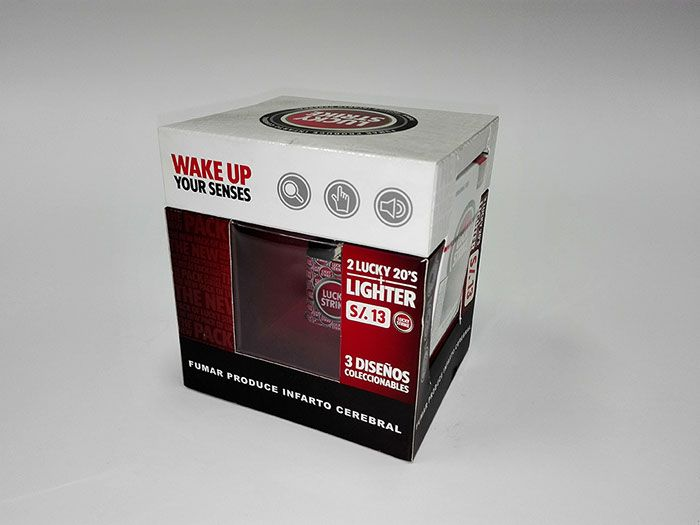 Pack Promocional Lucky Strike - Aza Packing - www.aza.pe