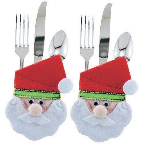 Moldes para hacer portacubiertos navideños en fieltro03
