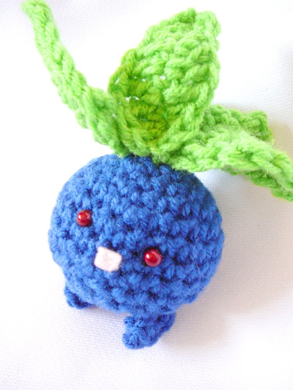 Oh, if I knew how to crochet, my room might just be covered in amigurumi Pokemon...AND HE'D BE THE FIRST. :D #oddish