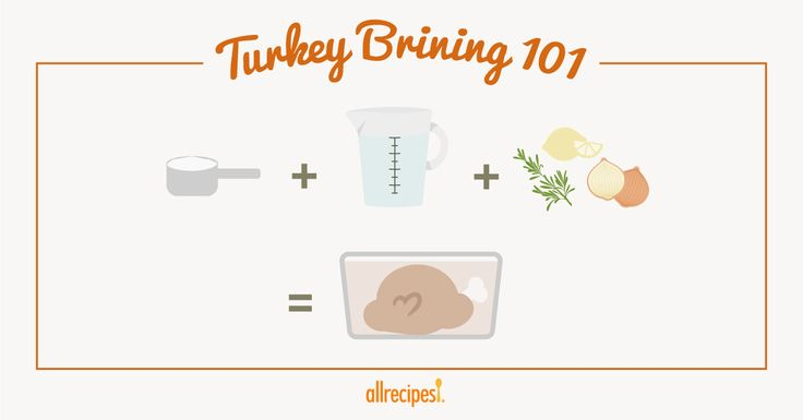 Brining is the secret to flavorful turkey. Brining makes it moist. So, despite the moisture loss during the long cooking time, you end up with a juicy bird.