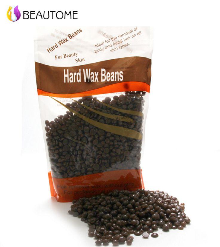 Salon Dedicated  Tastes Depilatory Hard Wax Free Paper 300G Hair Removal Whole Body Painless Allergy Shaving Beauty .!