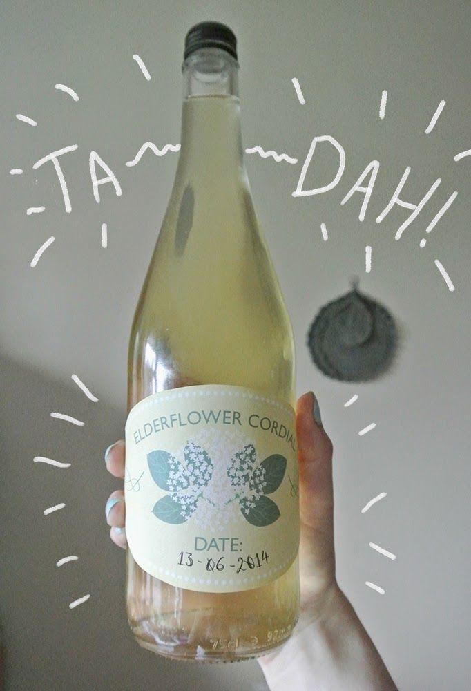 1000+ images about Elderflower cordial labels on Pinterest