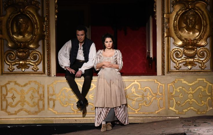 Simon Orfila (Figaro) e Laura Giordano (Susanna) - foto di Roberto Ricci