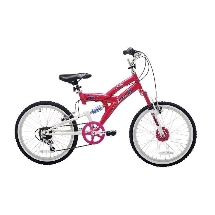 $117 Prime Amazon.com: Kent Rock Candy Girls Bike (20-Inch Wheels), Pink/White