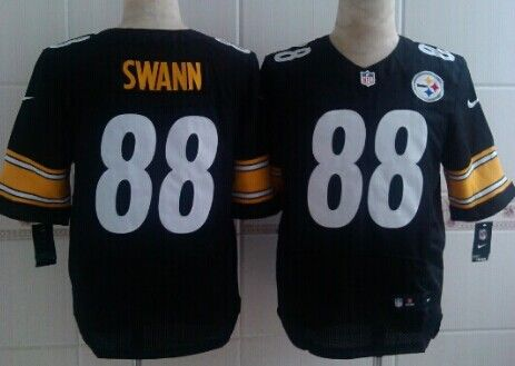 efd6344637c nike steelers 88 lynn swann black mens stitched nfl limited rush jersey