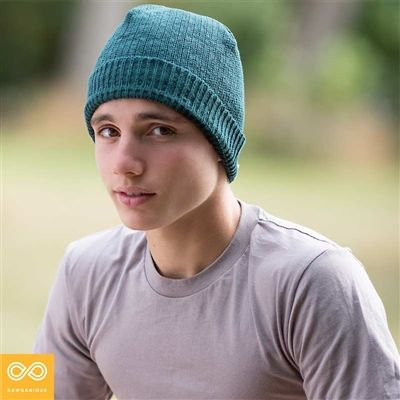 Organic Hemp Knit Winter Beanie (Ski Hat or Tuque), made from 100% organically grown European hemp. Strong, cozy, breathable, and pure. Our eco-friendly, all-natural organic hemp beanie fits most, featuring a stretchy elastic-free ribbed knit style. Insulating hemp fibers will help you stay warm in low temperatures this winter. Made sweatshop-free and chemical-free at the Rawganique Atelier in Europe.