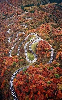 Romantic Road in Japan