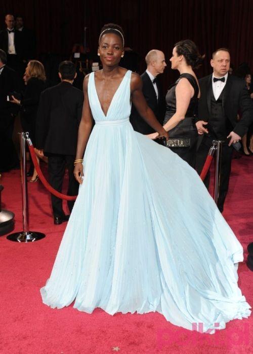 Lupita Nyong'o na Oscary 2014. To suknia dla prawdziwej księżniczki!
