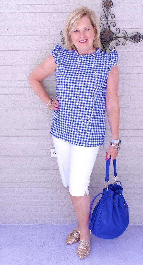 ec256f81ca9c WEARING BERMUDA SHORTS | Tanya the best 1 | Fashion, Fashion over 40 ...