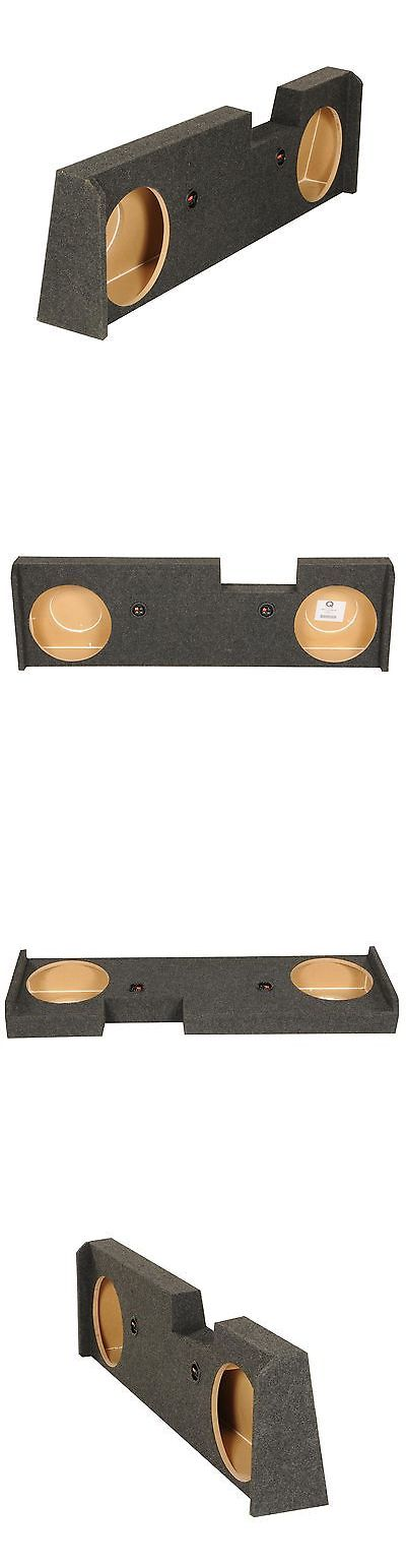 Speaker Sub Enclosures: New! Gmc Chevy Crew Cab 2014-2015 Underseat Dual 12 Subwoofer Sub Box Enclosure -> BUY IT NOW ONLY: $69.99 on eBay!