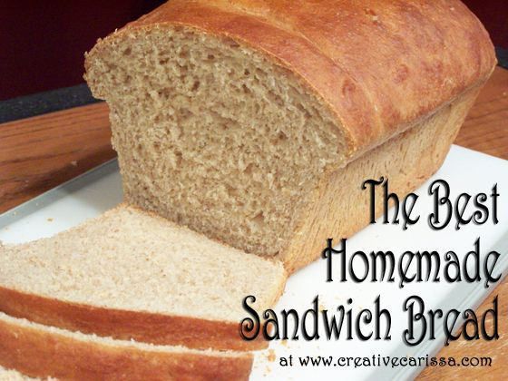 How to Make the Best Homemade Sandwich Bread. Ever. ~ Creative Green Living