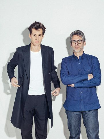 "The music producer Mark Ronson (left) and the novelist Michael Chabon, who share writing credits on Ronson's new album, ""Uptown Special."""