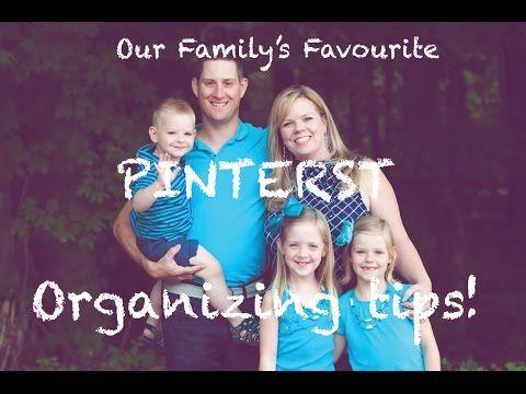 ▶ Favourite Pinterest Organizing Ideas - YouTube