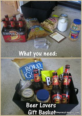 Beer Lovers Gift Basket