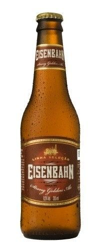 Eisenbahn Strong Golden Ale - Cervejaria Sudbrack - Belgian Golden Strong Ale