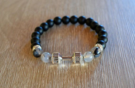 dumbbell bracele mens bracelet bracelet for men spartan