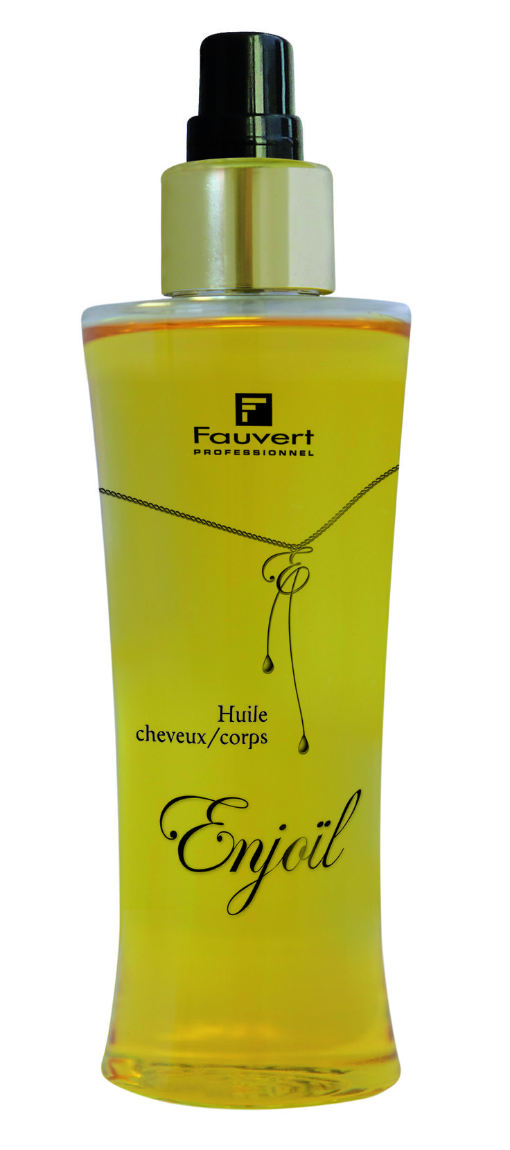Huile cheveux et corps ENJOÏL, soin non rincé à base de cinq huiles, à utiliser…