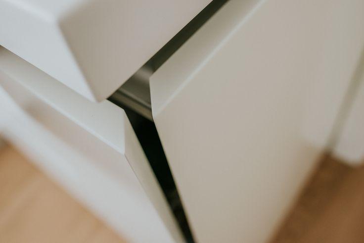 Details make the difference  #details #kitchen #design #modern #mdfpainted #white #highpremium #accessory #saramobdesign