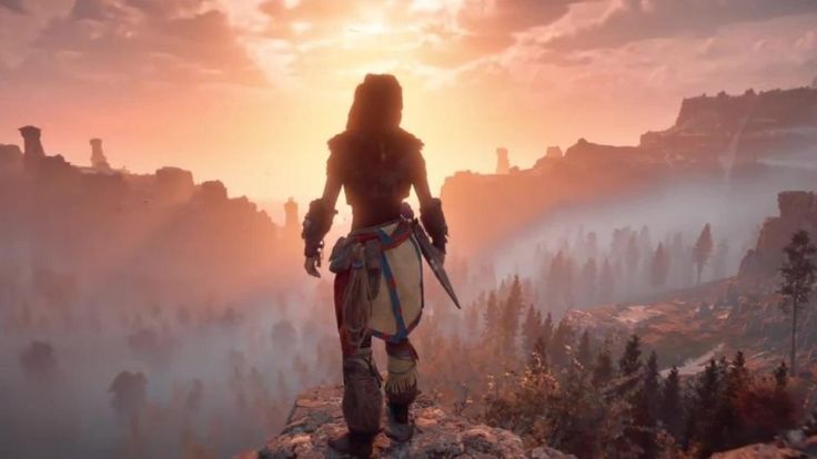 Horizon Zero Dawn Parche 1.30 Agrega New Game+, Opciones de Pintura Facial y más #Gamers