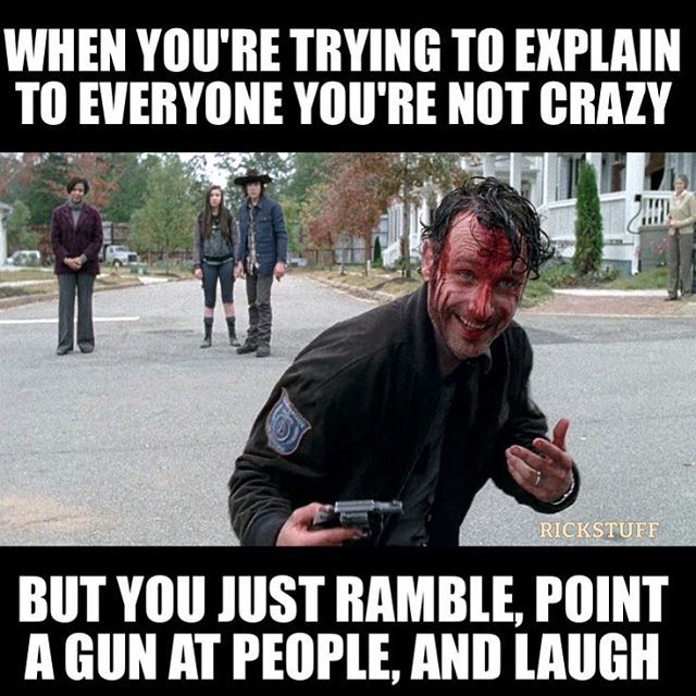 Rick Grimes funny meme