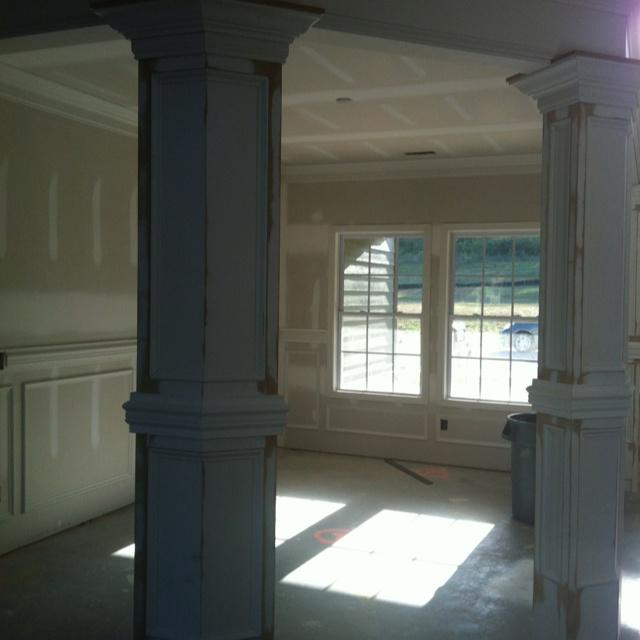 Building Dining Room Columns