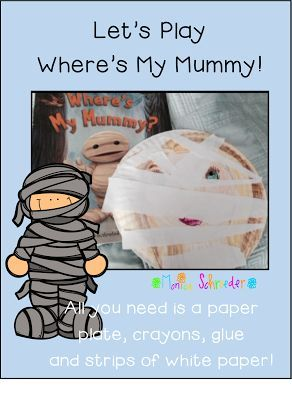 Welcome to The Schroeder Page!: Halloween: Where's My Mummy
