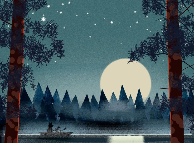 Bear and Fox kayaking