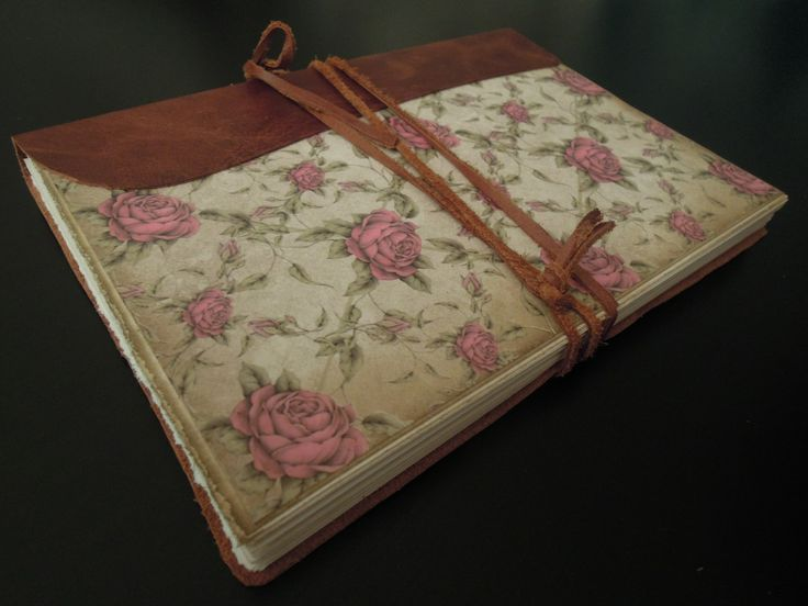 ...deník Beatrix Potter... Kožený deník, ručně šitá knižní vazba, trhané smetanové listy, kvalitní SB papír... A5, cca 100 listů = 200 stran