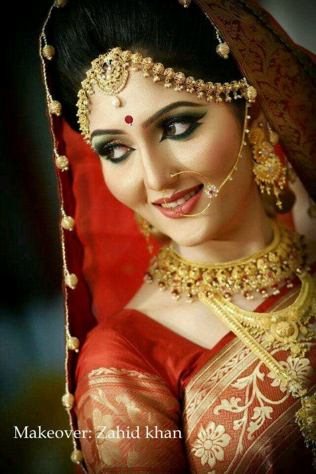 For wedding bridal entertainment desi wedding indian bridal hair - 390 Best Images About Bridal Makeup On Pinterest Indian