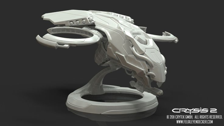 ArtStation - Crysis 2 - Spaceships, Felix Leyendecker