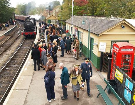 Pickering Wartime Weekend 2014 - a must-see if you're visiting the #NorthYorkMoors this October!  Don't miss it: http://www.forestholidays.co.uk/locations/north-of-england/nearby-events--pickering-wartime-weekend