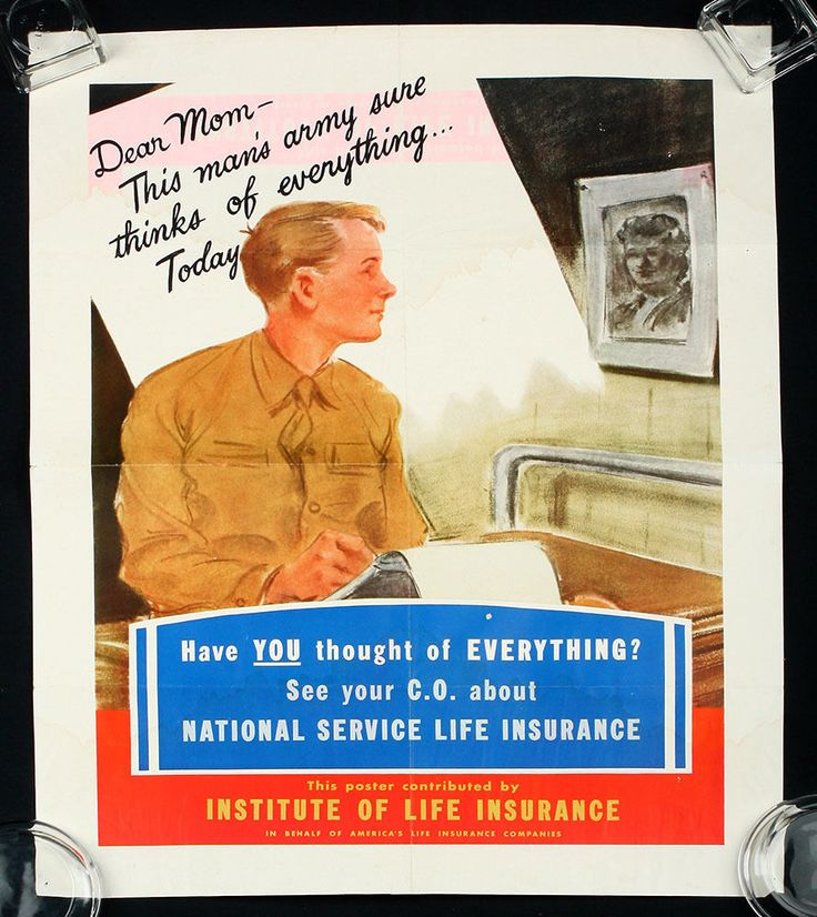World War Ii Homefront Propaganda Life Insurance