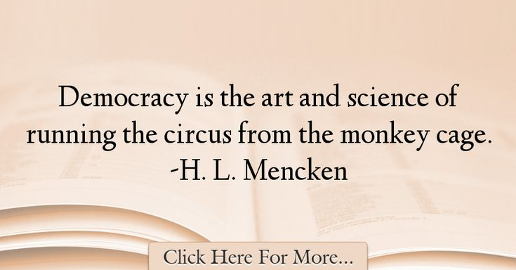 H. L. Mencken Quotes About Science - 61515