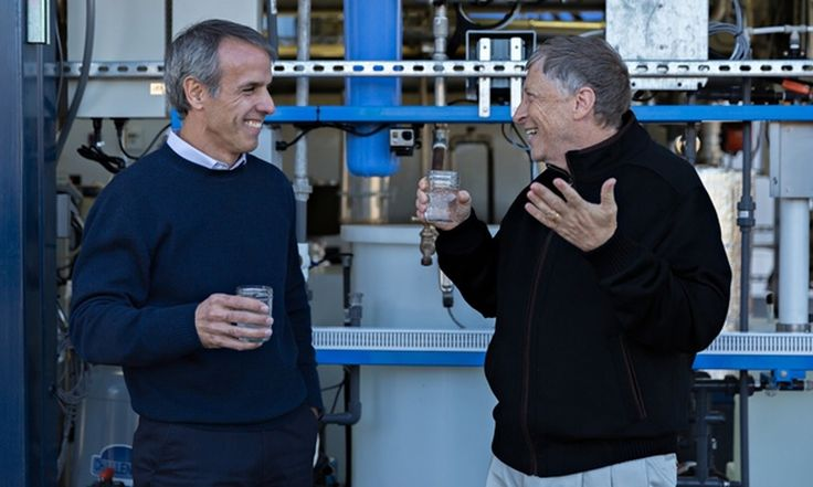 Wow! This is some really cool tech - turning #waste to drinking #water! So much potential!