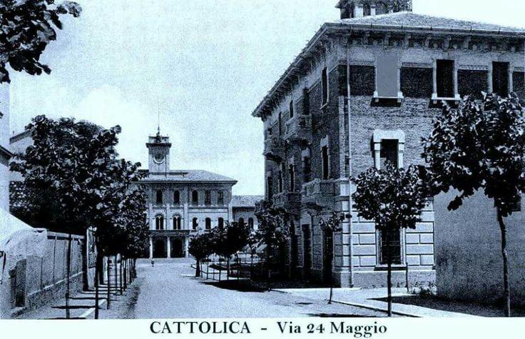 Via 24 Maggio, Cattolica (Centro Storico)
