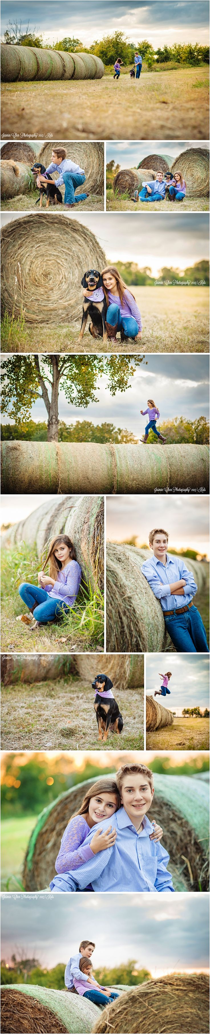 Kids photo sessions with pet | Jasmin Chen Photography