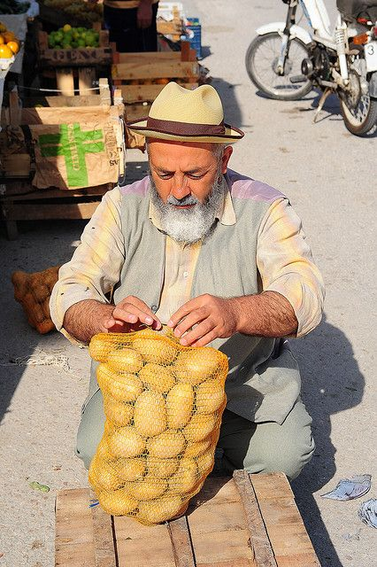 Potato Seller. Antalya, Turkey #Expo2015 #Milan #WorldsFair