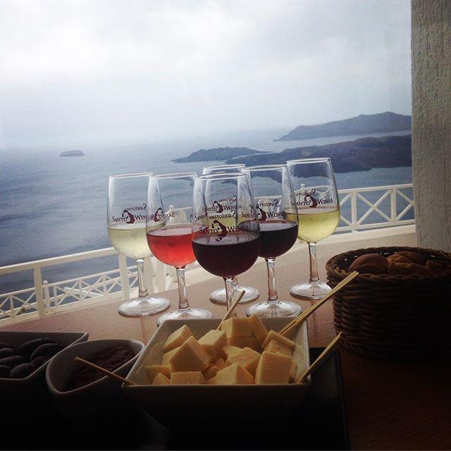 #WineTasting #Santorini #Wine   Photo credits: @marirena_per