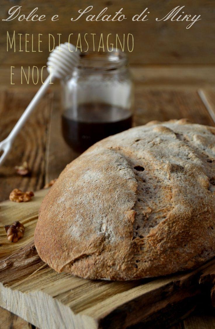 Pane al miele di castagno e noci