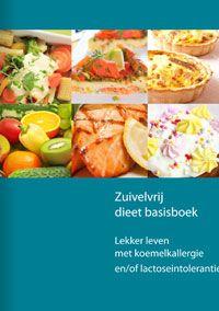 zuivelvrij dieet basisboek via allergie platform.nl