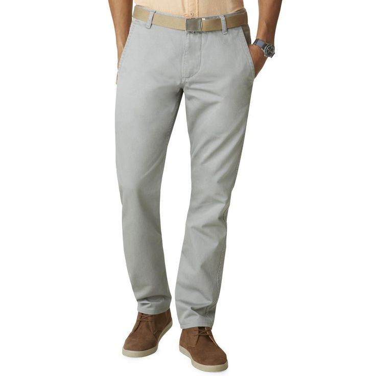 Dockers Mens Slim Fit Khaki Khaki Pants