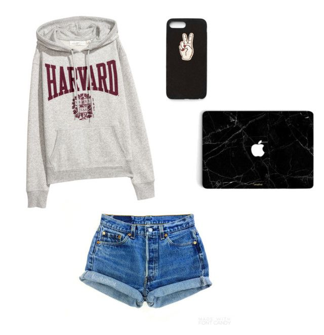 """""""Untitled #2"""" by fancygirl06 on Polyvore featuring Levi's and Nasty Gal"""