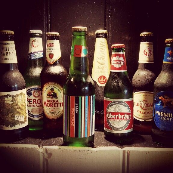 Squisito beer selection