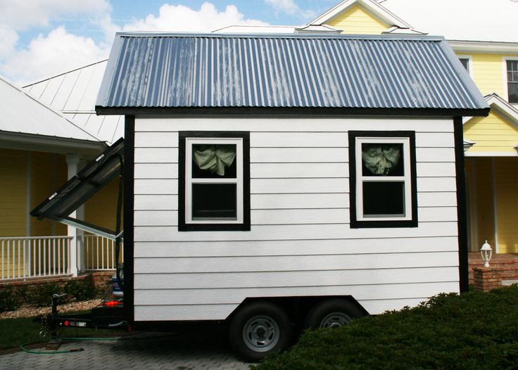 dustland manor a 96 sq ft solar powered off grid tiny house on wheels built by high school. Black Bedroom Furniture Sets. Home Design Ideas