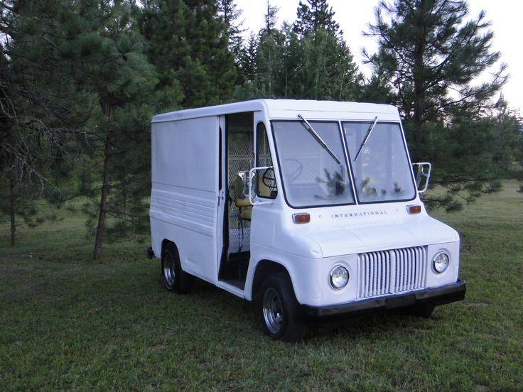 1966 international harvester mini metro postal van for sale now things that go vroom. Black Bedroom Furniture Sets. Home Design Ideas
