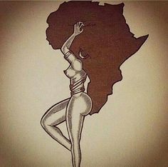 ... Tattoos on Pinterest | African Tattoo Tattoos and Nefertiti Tattoo